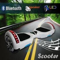 Scooter Patineta Eléctrica Bluetooth , Bocinas,controlr.led