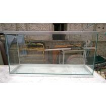 Pecera Nueva Rectangular 150 Litros De Agua 1.00 X .30 X .50