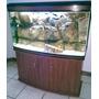 Boyu Pecera Lh-1200 Con Gabinete Agua O Marino Peces