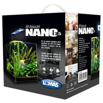 Acuario Nano 18 Litros Kit Aquajet Con Tapa Anti Evaporacion