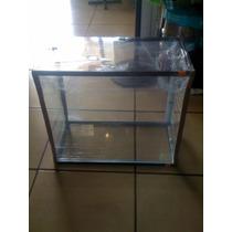 Pecera De Cristal 50 Cm De Largox50cm Altox 25 Cm Ancho