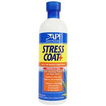 Stress Coat + Acondicionador De Agua Para Peces Marca Api