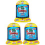 3 Kits Gluupys Seamonkeys Mascotas Acuaticas Instantaneas