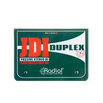 Caja Directa Pasiva Jdi Duplex Radial Engineering