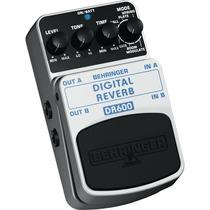 Pedal Behringer Dr600 Digital Reverb, Nuevo!!!