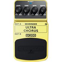 Pedal De Efectos Ultra Chorus Behringer Uc200