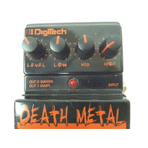 Death Metal Digitech Dostorsion Pedalera Guitarra Electrica