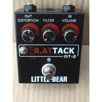 Pedal Rat Tack Rt2 Guitarra Bajo Distorsion (proco Clon)