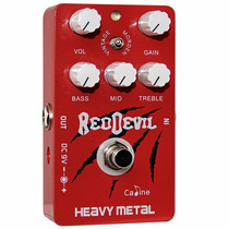 Pedal De Distorsión Guitarra Heavy Metal Red Devil