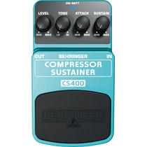 Behringer Cs400 Pedal Compressor/sustainer.
