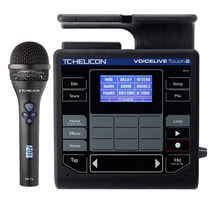 Tc Helicon Voicelive Touch 2 Y Microfono Mp76 Efectos De Voz