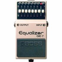 Boss Pedal Equalizador Bajo Y Guitarra Ge7 Ge-7