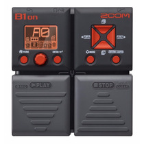 Pedales Para Bajo Zoom B1on Bass Effects Pedal