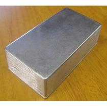 2 Pc Enclosure 125b Caja Aluminio Para Pedales Custom Y Vint