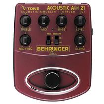 Behringer Adi21 Pedal Para Guitarra Acústica.