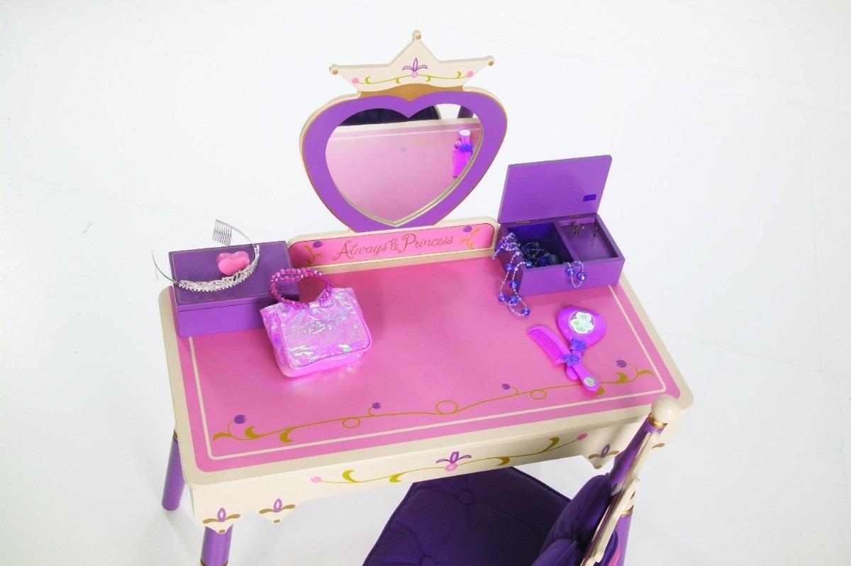 Peinador tocador princesas para ni as caja musical vbf - Hacer tocador para nina ...