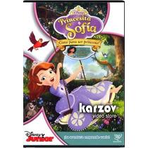 Princesita Sofia ¡ Lista Para Ser Princesa ! Pelicula En Dvd