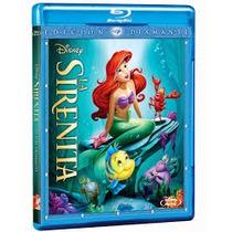 6 Princesas Disney En Blu Ray Menos De $249 C/u Ya Con Envio