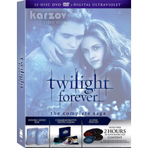 Twilight Forever, The Complete Saga, Crepusculo, Dvd + Uv