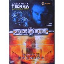 Batalla Por La Tierra & Especie Enemiga / Dvd Usado
