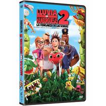 Lluvia De Hamburguesas 2 (dvd) Original Y Nuevo