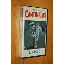 Vhs Pelicula Cantinflas El Portero (original, Sellado)
