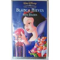 Blanca Nieves Y Los Siete 7 Enanos Vhs Rarisimo En Español L