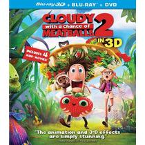 Lluvia De Hamburguesas 2 En 3d ( Bluray 3d + Bluray + Dvd )