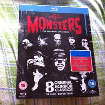 Coleccion Monsters From Universal 8 Films Clasicos Blu-ray