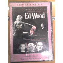 Dvd Ed Wood Cine De Arte Ciencia Ficción