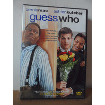 Guess Who Dvd Import Movie Ashton Kutcher Bernie Mac Comedia