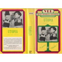 Vhs Pal Original Laurel Y Hardy Utopia El Gordo Y El Flaco