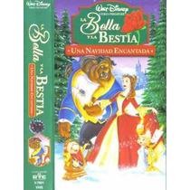 La Bella Y La Bestia Una Navidad Encantada Vhs Español Latin