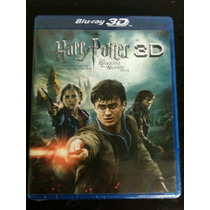 Harry Potter Y Las Reliquias De La Muerte Parte 2 Bluray 3d