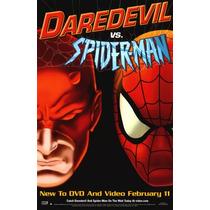 Spiderman Vs Daredevil Pelicula Seminueva Original Excelente