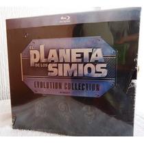 El Planeta De Los Simios, Boxset: Las 7 Peliculas, Blu-ray