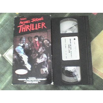Vhs Making Michael Jackson´s Thriller