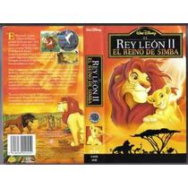 El Rey Leon 2 Vhs De Coleccion.1a Ed Hablada En Español Sp0