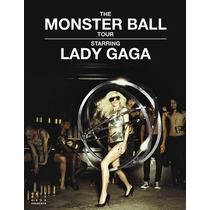 Lady Gaga The Monster Ball Tour New York Dvd+2 Lp