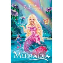 Barbie Mermaidia Pelicula Seminueva ¡¡excelente Estado!!