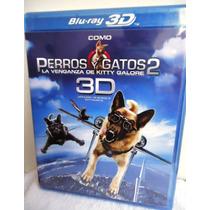 Como Perros Y Gatos 2: Dos Pelicula En Formato Blu-ray 3d