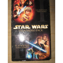 Star Wars Saga Video Pack Para Coleccionistas