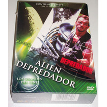 Paquete 3 Dvd´s: Alien - Depredador - Alien Vs Depredador
