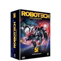 Boxset Robotech La Nueva Generacion , Serie De Tv En Dvd
