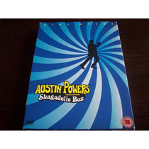 Austin Powers Collection Shagadelic Box Three Dvd Set