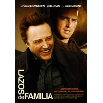 Dvd Lazos De Familia Michael Caine Nuevo 100% Original