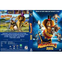 Pelicula Dvd Madagascar 3 Los Fugitivos Dreamworks Anime Tam