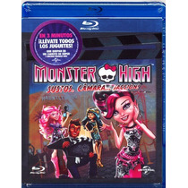 Monster High Sustos Camara Accion . Pelicula En Blu-ray