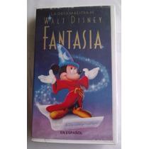 Fantasia La Obra Maestra De Walt D Vhs Hablada En Español