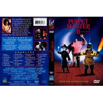 Dvd Puppet Master 2 Ii El Titere Horror Terror Gore Clasica